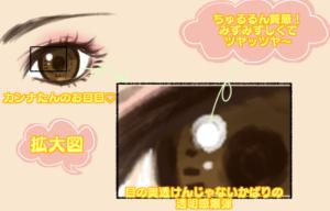 カンナたんの目の質分析